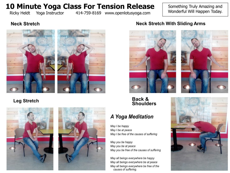10 Minute Yoga Class - Tension Release