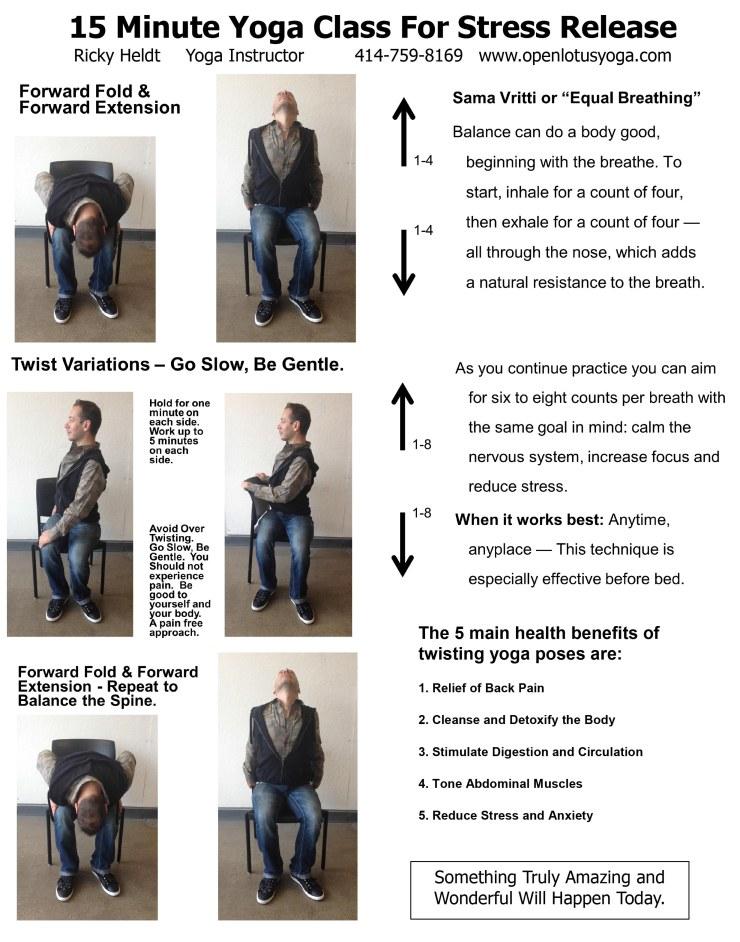 15 Minute Yoga Class - Twist