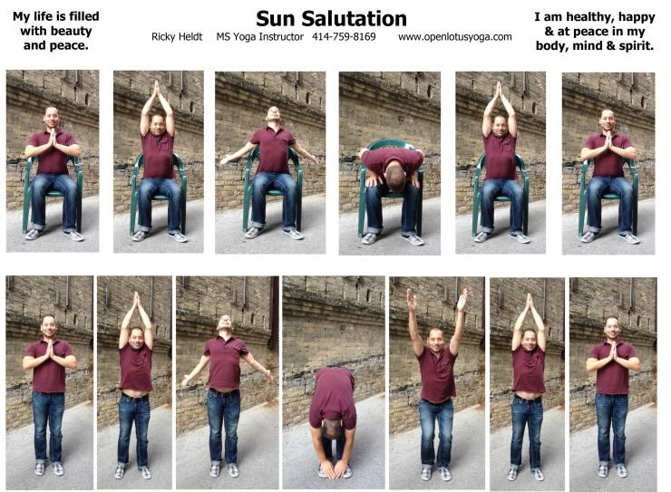 Sun Salutation Handout